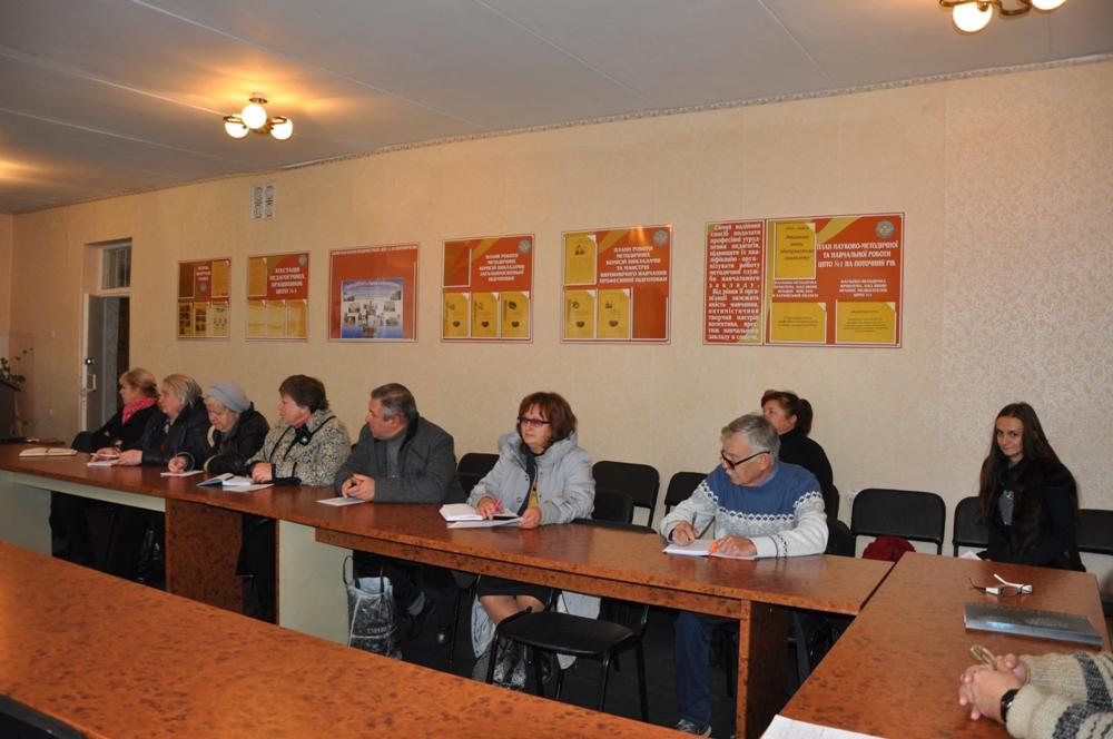 Обласний семінар-практикум для педагогічних працівників ПТНЗ області професій на базі комп'ютерної техніки