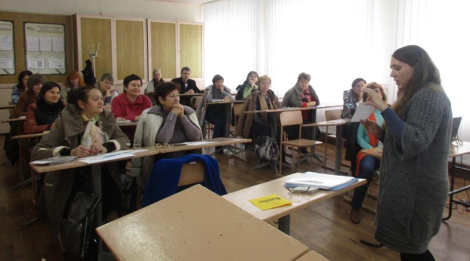 Обласна школа  передового педагогічного досвіду для викладачів-початківців предмета «Креслення»