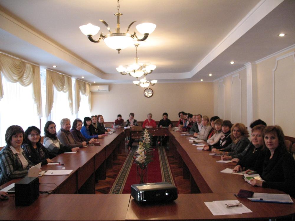 Обласний семінар-практикум для заступників директорів з навчально-виховної роботи професійно-технічних навчальних закладів