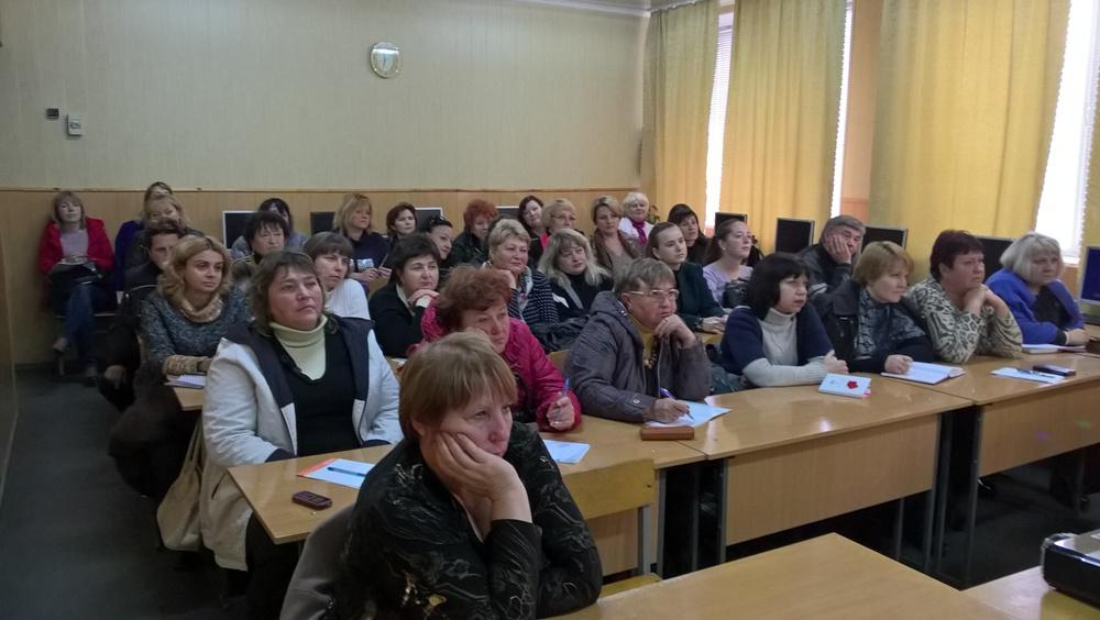 Відбувся семінар-практикум для викладачів української мови та літератури
