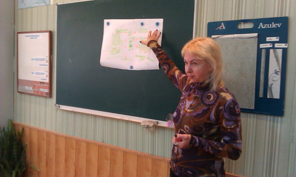 Обласний семінар-практикум для викладачів географії ПТНЗ області