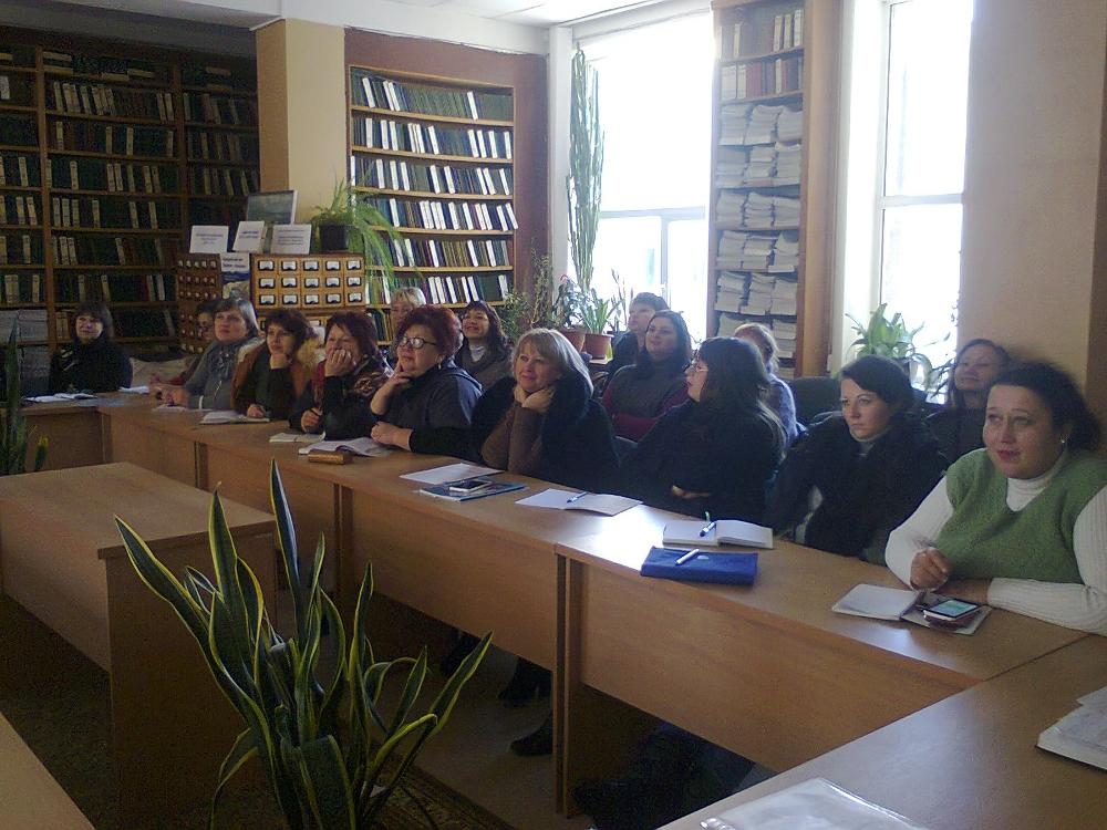 Відбулася обласна школа позитивного досвіду роботи для бібліотекарів ПТНЗ