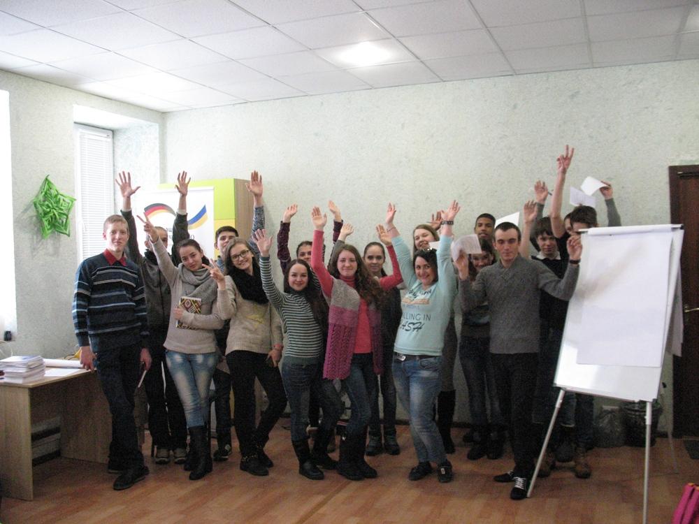 Відбулась обласна школа лідерів учнівського самоврядування ПТНЗ області