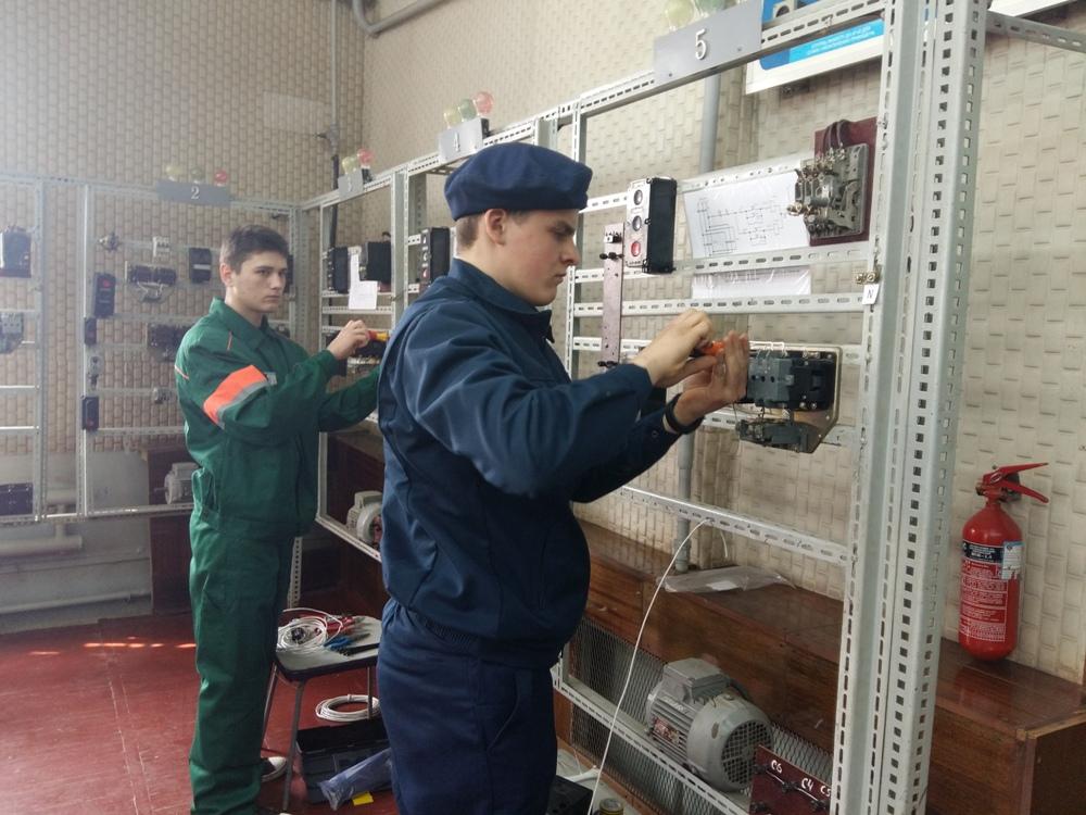 Обласний конкурс фахової майстерності серед учнів ПТНЗ з професії «Електромонтер з ремонту та обслуговування електроустаткування» у 2016/2017 навчальному році