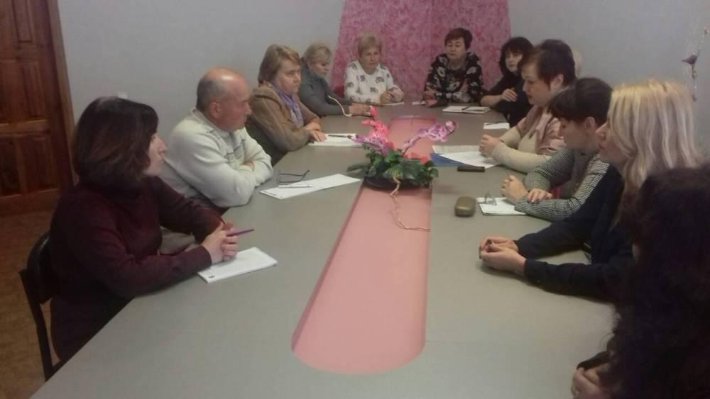 Відбулося засідання круглого столу для заступників директорів з навчально-виробничої роботи ЗП(ПТ)О Харкіської області