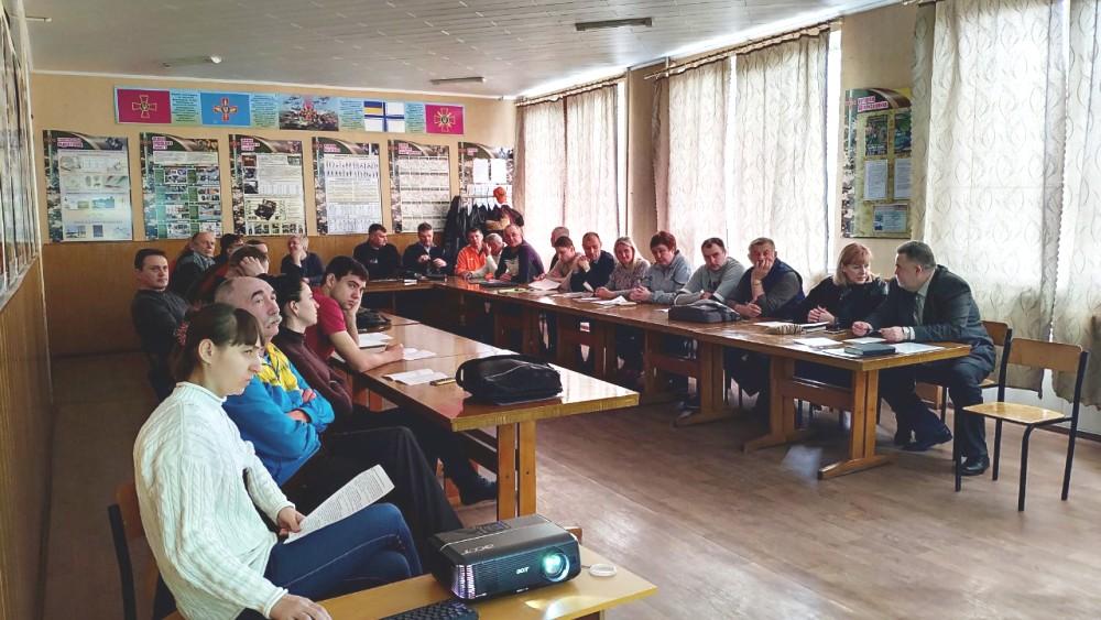 21 березня 2019 року в ДПТНЗ «Центр професійно-технічної освіти №3 м. Харкова» відбувся обласний семінар-практикум