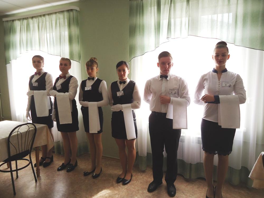 Обласний конкурс фахової майстерності серед учнів ЗП(ПТ)О із професії «Офіціант» у 2018/2019 навчальному році