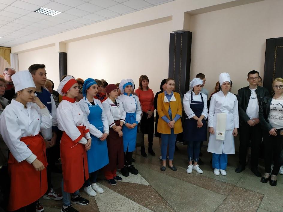 Обласний конкурс фахової майстерності серед учнів ЗП(ПТ)О із професії «Кухар» у 2018/2019 навчальному році