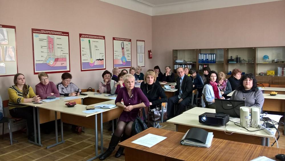Відбулося засідання обласної методичної секції викладачів української мови і літератури, українського ділового мовлення